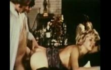 Hard vintage orgy sex