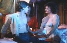 Vintage three-way with Kay Parker