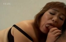 Japanese mature Kiriko Nakamoto sucks and fucks