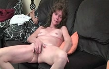 Unshaved old lady gets naughty